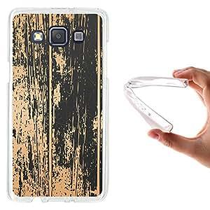 WoowCase - Funda Gel Flexible { Samsung Galaxy A5 } Madera Antigua Carcasa Case Silicona TPU Suave