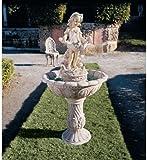 48.5'' Victorian Childhood Statue Sculpture Fountain