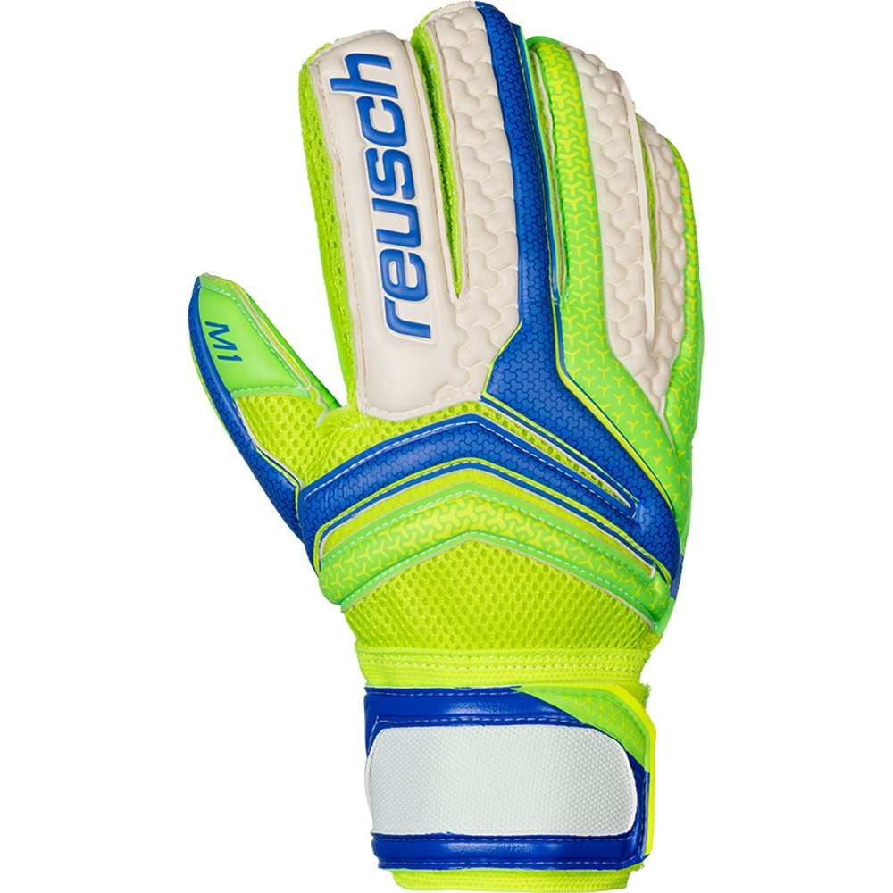 REUSCH Serathor Prime M1 electric Blau   green   green