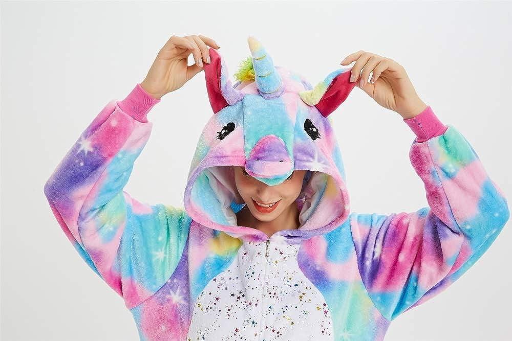 Unisex Adulto emmarcon Pigiama Animale Kigurumi Tuta Intera Costume Carnevale Halloween Cosplay