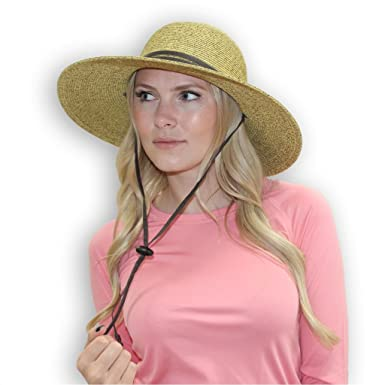 a573408b032ad6 Image Unavailable. Image not available for. Color: Outrigger Womens Sun Hats  with UV Protection Wide Brim Packable ...