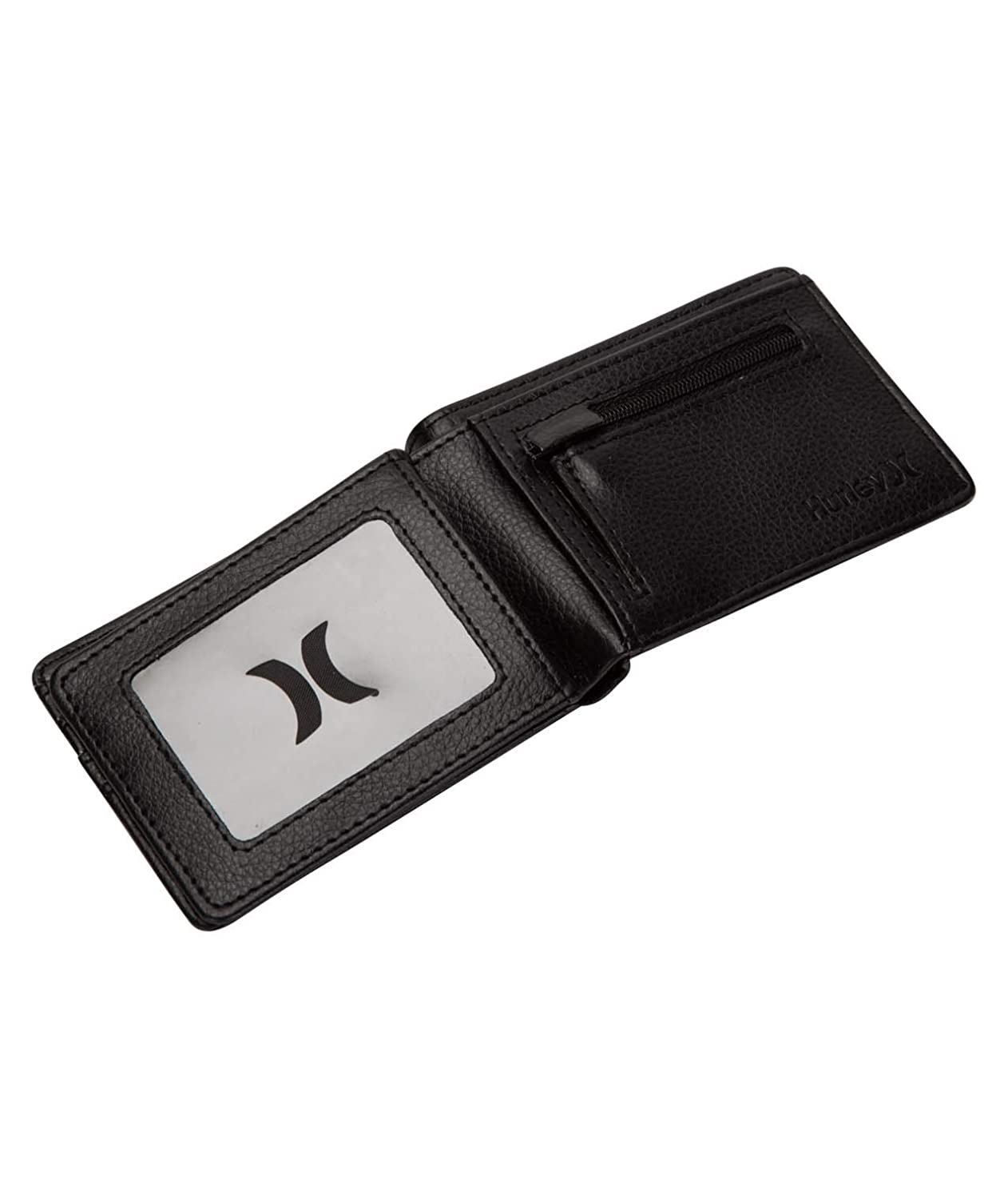 Black Hurley One and Only PU Wallet