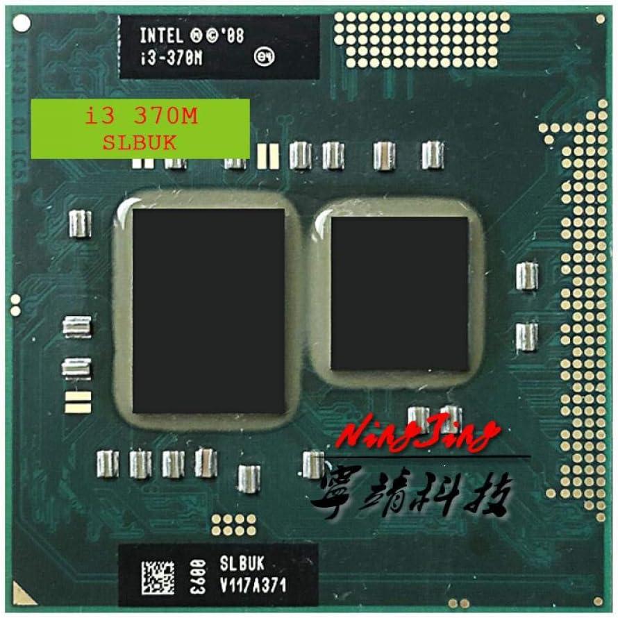 RPGA988A Intel Core I3-370M I3 370M SLBUK 2.4 GHz Dual-Core Quad-Thread CPU Processor 3W 35W Socket G1