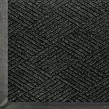 Andersen 2295 Waterhog Eco Premier, Pet Polyester Fiber Entrance Indoor/Outdoor Floor Mat, SBR Rubber Backing, 3-Feet Length X 2-Feet Width, 3/8-Inch Thick, Black Smoke