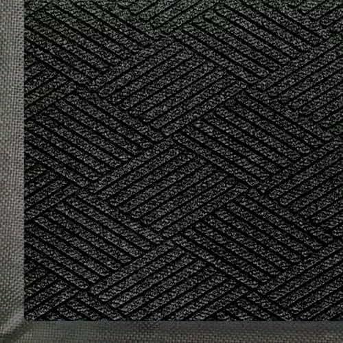 Andersen WaterHog Eco Premier  PET Polyester Fiber Entrance Indoor/Outdoor Floor Mat, SBR Rubber Backing, 3/8