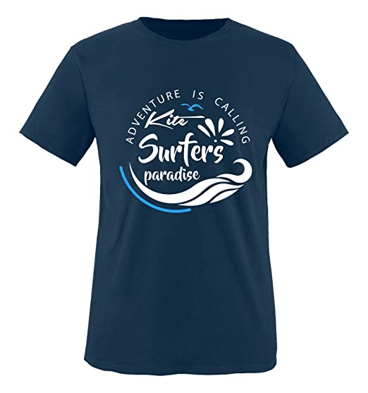 Comedy Shirts Kite Surfers Paradise Damen Hoodie