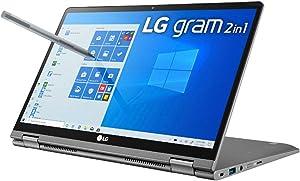 "LG Gram Ultra-Lightweight 2-in-1 Laptop, 14"" FHD (1920x1080) Touchscreen, Intel Core 10th Gen i7-10510U, 16GB RAM, 512GB SSD, Windows 10 (Renewed)"
