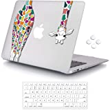 iCasso MacBook Air 13 inch Rubber Coated Soft Touch Hard Shell Protective Case Cover for MacBook Air 13 Inch Model A1369/A146