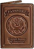 Villini 100% Leather US Passport Holder Cover Case For Men Women In 8 Colors