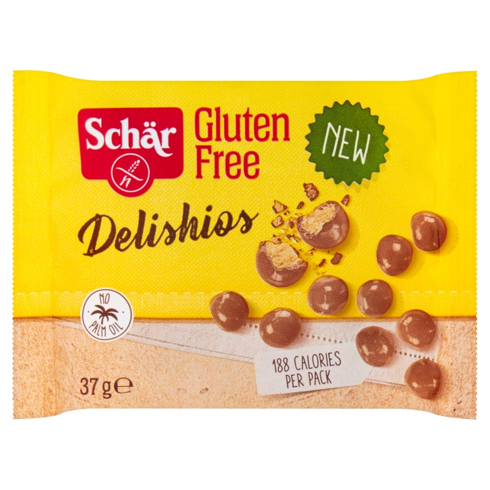 Schar Gluten Free Delishios Chocolate Biscuits, 37g