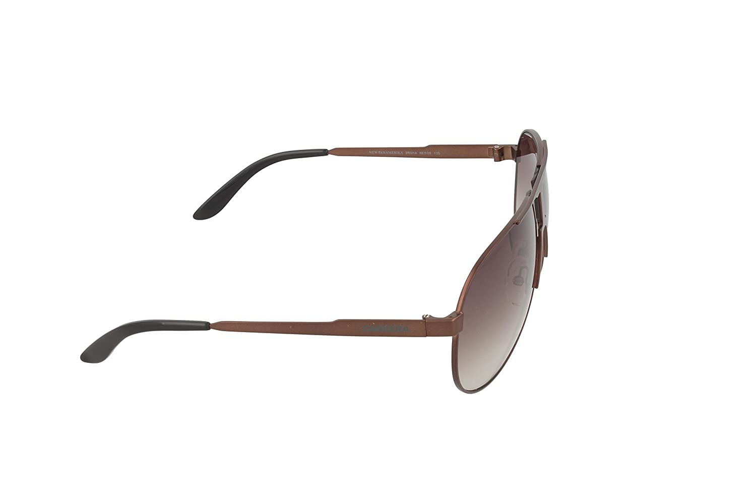5f57cf1874 Amazon.com  Carrera New Panamerika S Sunglasses NEWPAS-02R5-HA-6609 - Semi  Matte Brown Frame
