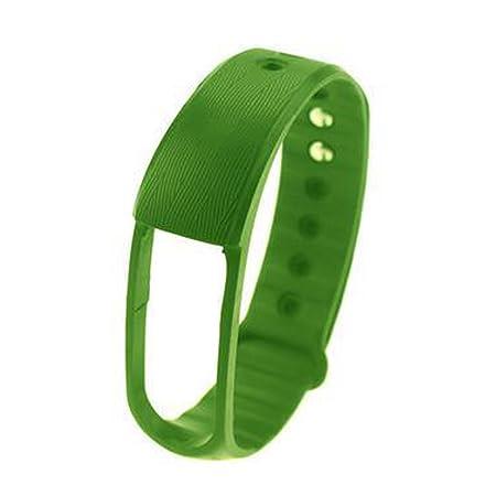 COOSA Reemplazo de la correa de pulsera de silicona diseñada ergonómicamente para ID101 (sin Rastreador) (verde, para ID 101): Amazon.es: Deportes y aire ...