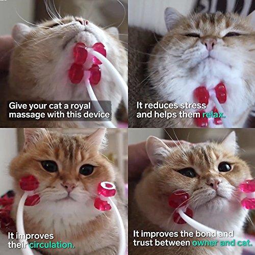 Cat Massage Roller,pet cats face massager
