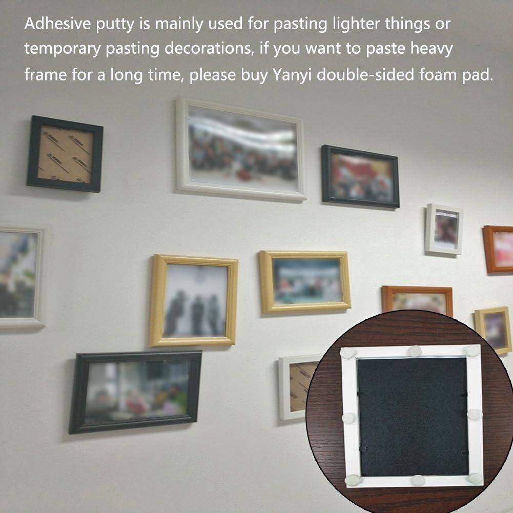 Super viscosit/à Putty Sticky riutilizzabile Adesivo non tossico rimovibile Handy Tack Bianco Yanyi Brand Tack Poster 75g