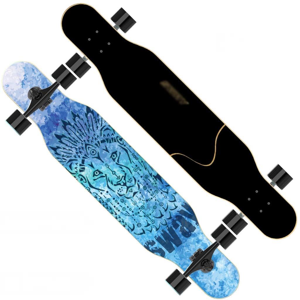 【メーカー直送】 DUWEN スケートボード大人の女の子四輪スケートボードロングボードダブルワープダンスボード初心者男性と女性のブラシストリートスクーター (色 (色 : : C) B07NRF69BR C) E E, バルドンフィルステージ:8e984076 --- a0267596.xsph.ru