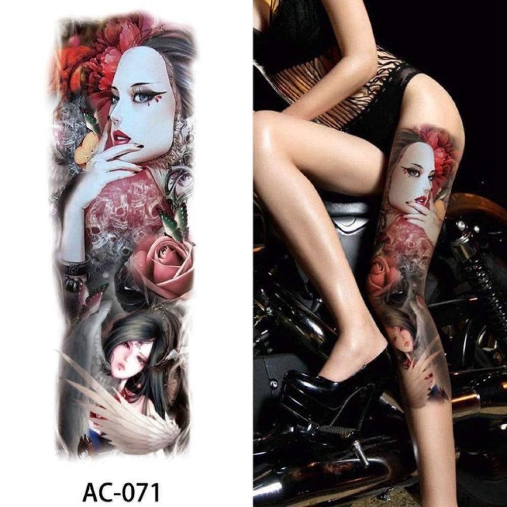 Etiqueta engomada temporal grande del tatuaje del brazo completo ...