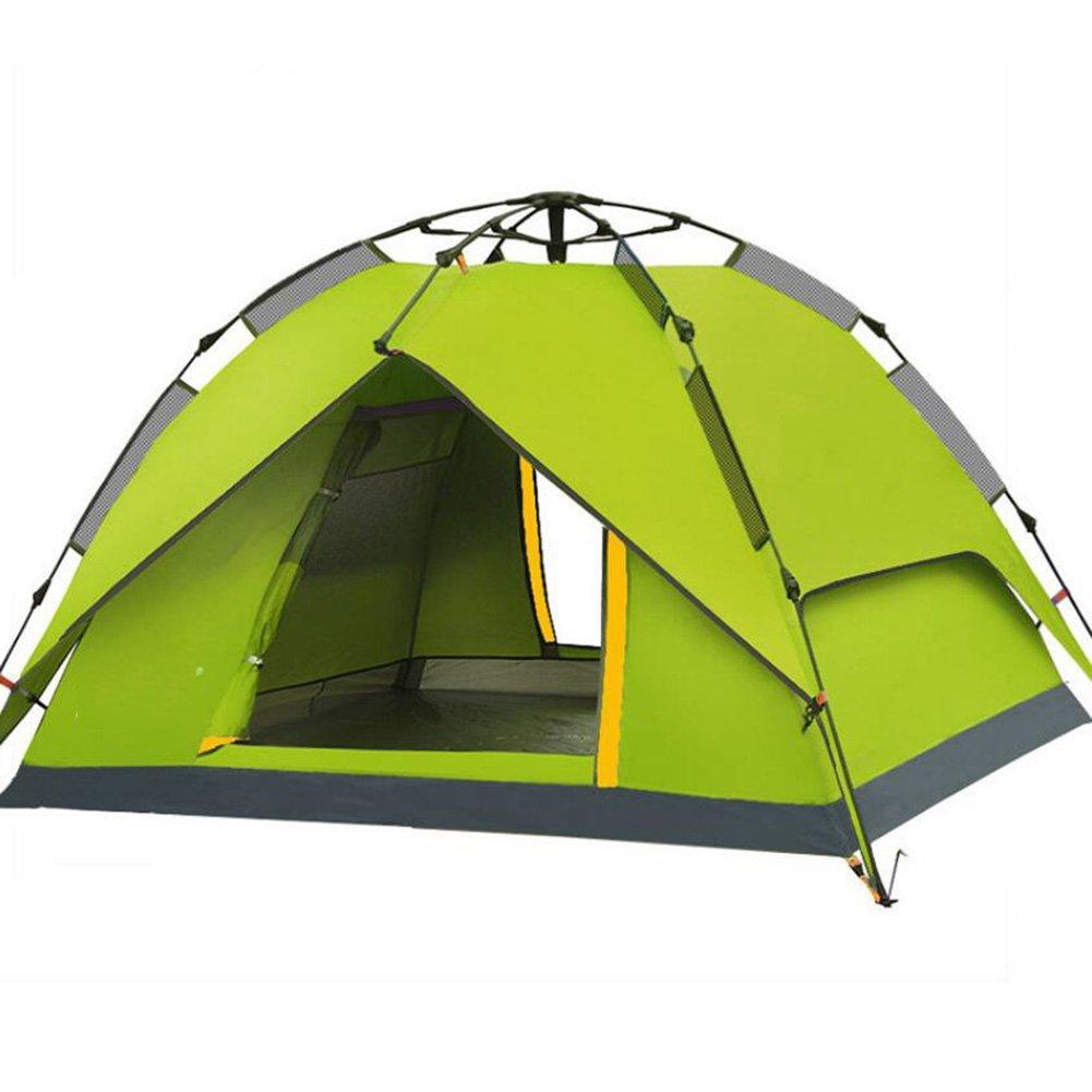 Outdoor-Zelt 3-4 Personen mehr als doppeltes Outdoor Camping Camping Regen automatische Feld Zelt Dome Zelt Trekking Zelt Camping Zelt