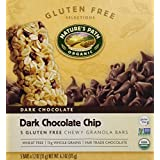 Nature's Path Gluten Free Granola Bar, Dark Chocolate Chip, 1.2oz 5 bars by Nature's Path