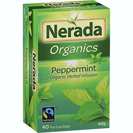 Nerada Organics té verde infusión de hierbas de menta 40 ...
