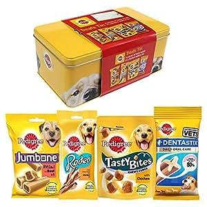 Amazon.com : Pedigree Treats Gift Tin : Pet Supplies