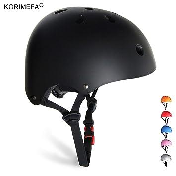 Amazon.com: KORIMEFA - Casco de monopatín para niños ...