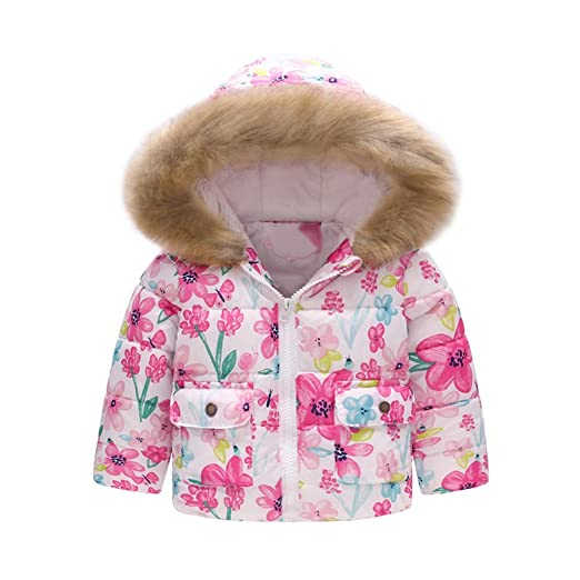 477bca818000 Baby Girls Boys Kids Warm Winter Coat Hoodie Tops Hooded Sweatshirt  Pullover Jumper Clothes❤