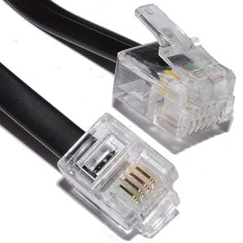 Cabling – Cable de módem ADSL RJ11 30 m