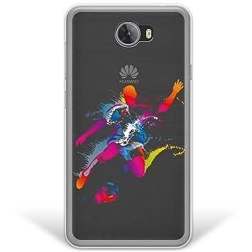 WoowCase Funda Huawei Y5 II, [Hybrid ] Jugador de Fútbol con ...