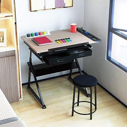 HTTZDZ Escritorio Mesa Plegable Mesa elevadora for niños Mesa de ...