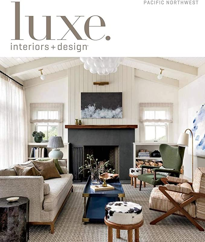 Luxe Interiors Design Amazon Com Magazines