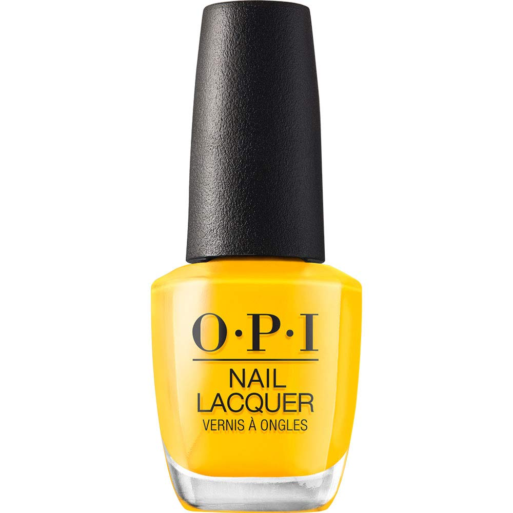 OPI Nail Polish, Nail Lacquer, Yellow / Golds, 0.5 fl oz