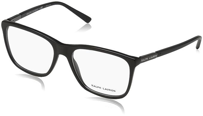 Ralph Lauren 0Rl6168, Monturas de Gafas para Hombre, Sandblast Black, 55