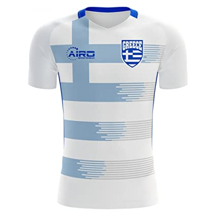 ca0ee06439c Amazon.com   Airo Sportswear 2018-2019 Greece Home Concept Football ...