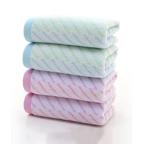 Toallas Juego de 4 toallas 100% algodón puro Ducha Spa Hotel Robe Holiday 100%