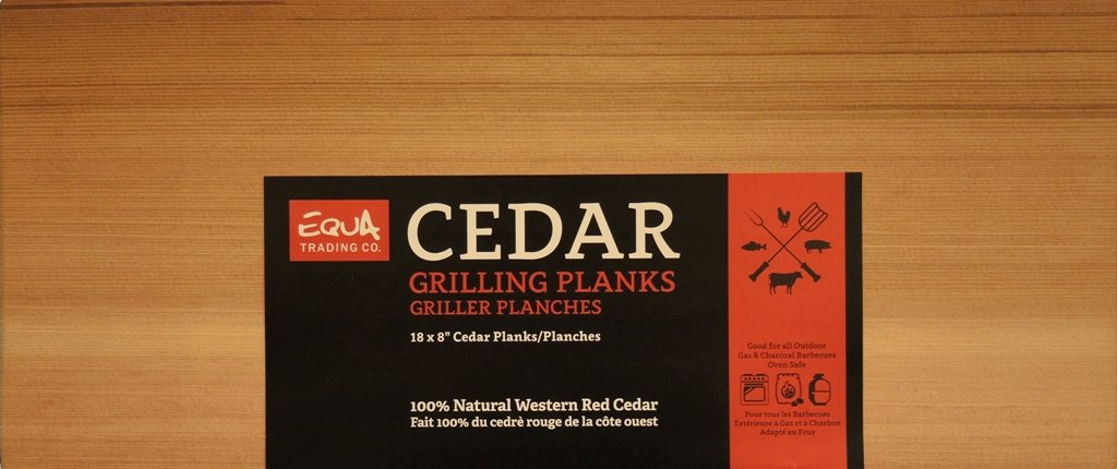 18 x 8 Premium Cedar Grilling Planks (Set of 2) | 100% Natural Western Red Cedar | Extra Thick | Cook Salmon, Steaks, Seafood & More | Simply Soak, Grill & Serve | 2 Pack