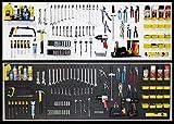 WallPeg pegboard panels, shelves, bins, locking peg hooks garage storage kit 96 W-B (White )