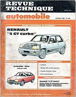 Rta 464.3 Renault 5 gt turbo: Amazon.es: Etai: Libros en idiomas extranjeros