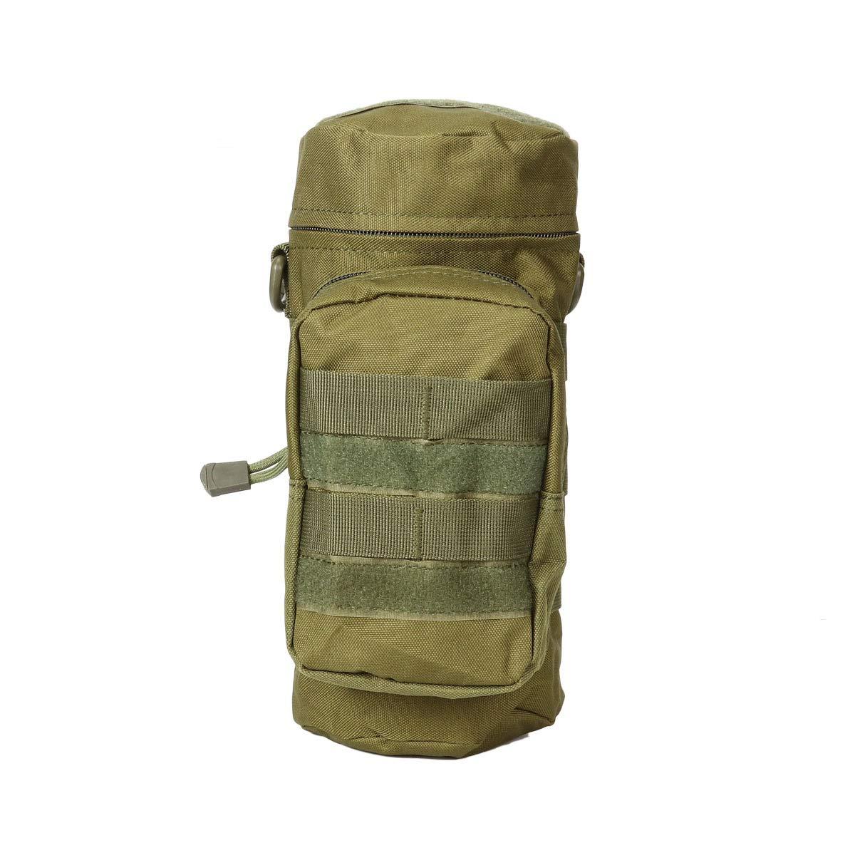 FreeLeben Porte-Bouteille d'eau, Extérieur Durable Tactical Military Molle Keelte Sac de Cantine Sac de Randonnée en Nylon Crossbody Camping