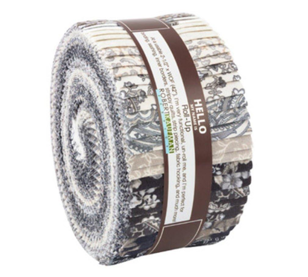Mayfield Antique Roll up 40 2.5-inch Strips Jelly Roll Robert Kaufman Fabrics RU-744-40 4336995964