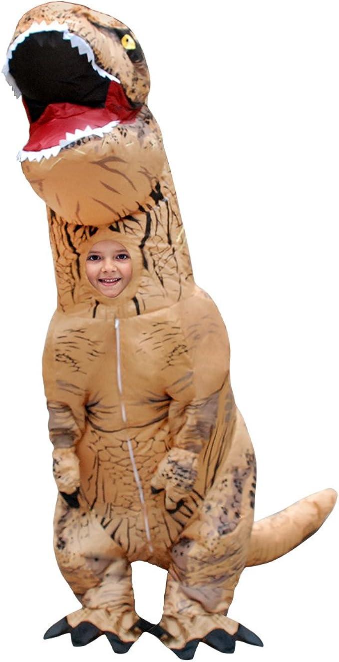 Disfraz de Dinosaurio T-Rex Inflable para Halloween, Cosplay ...