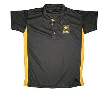 8748d5d2 Amazon.com: JWM Men's Performance Polo Shirt US Army: Clothing