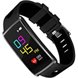 Fitness Tracker DG2CHU Color Screen Activity Tracker Fitness Watch with Heart Rate Monitor Swimming Waterproof Bluetooth Wireless Smart Bracelet for IOS & Android