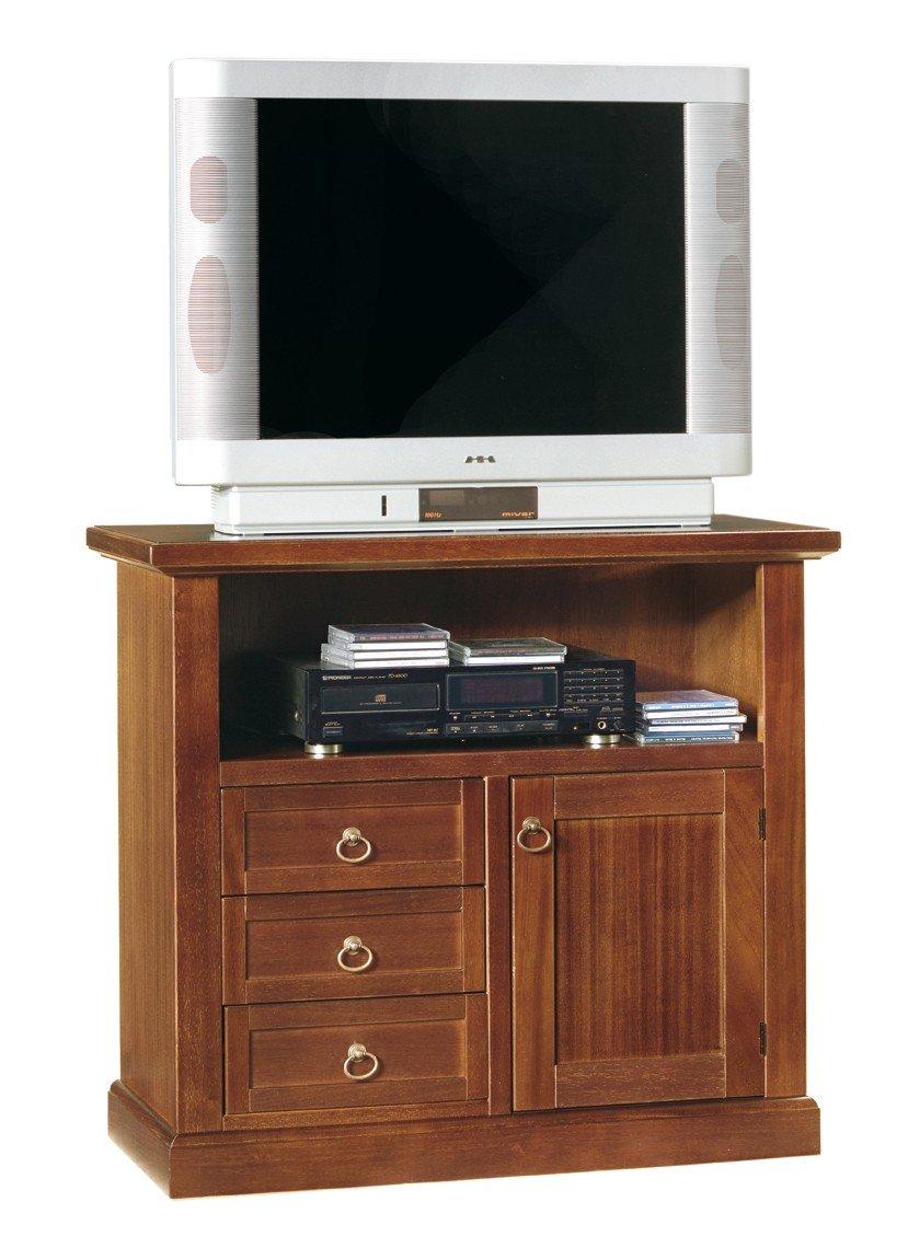 Lo Scrigno Arredamenti W378/N Fernsehschrank/TV-Element, Stil: Arte ...