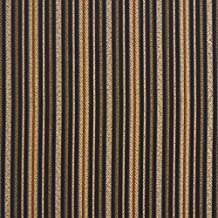 E604 Striped Black Gold Green And Orange Damask Upholstery And Window Treatment Fabric By The Yard