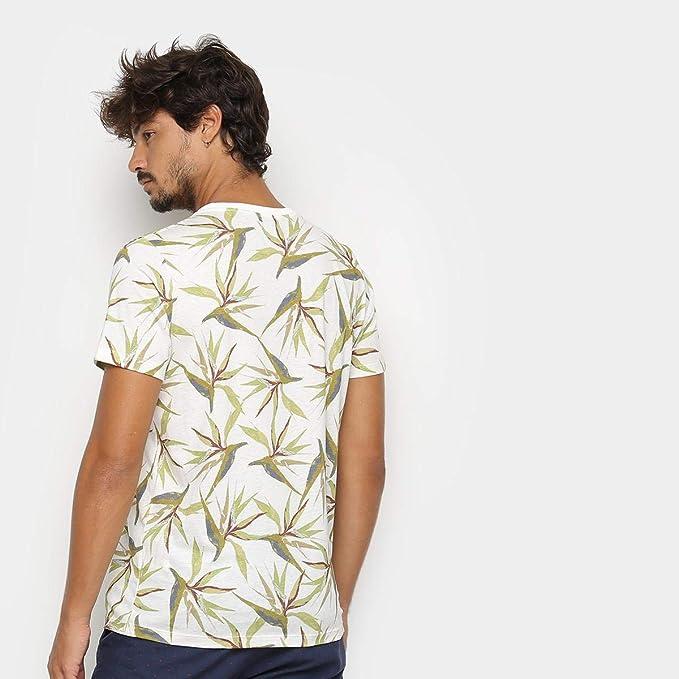 f0cb76bb0 Camiseta Colcci Folhagens Masculina: Amazon.com.br: Amazon Moda