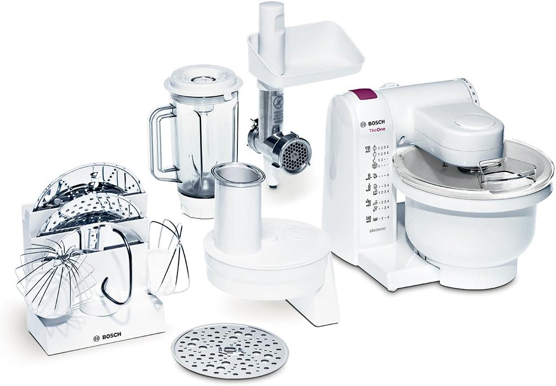Bosch MUM4657 - Robot de cocina, blanco, plástico: Amazon.es: Hogar