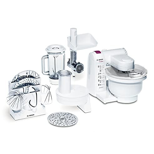 Amazon.de: Bosch MUM4657 Küchenmaschine MUM4 The One (550 Watt ...
