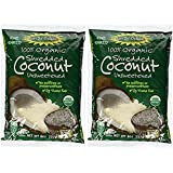 'Let's Do Organic Unsweetened Coconut Shredded, Fine Shred, 8 oz (2 Pack)' from the web at 'https://images-na.ssl-images-amazon.com/images/I/61bysq6ZnRL._AC_UL160_SR160,160_.jpg'