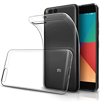 Funda Xiaomi Mi6,Simpeak Fundas Transparente Xiaomi Mi 6 ...