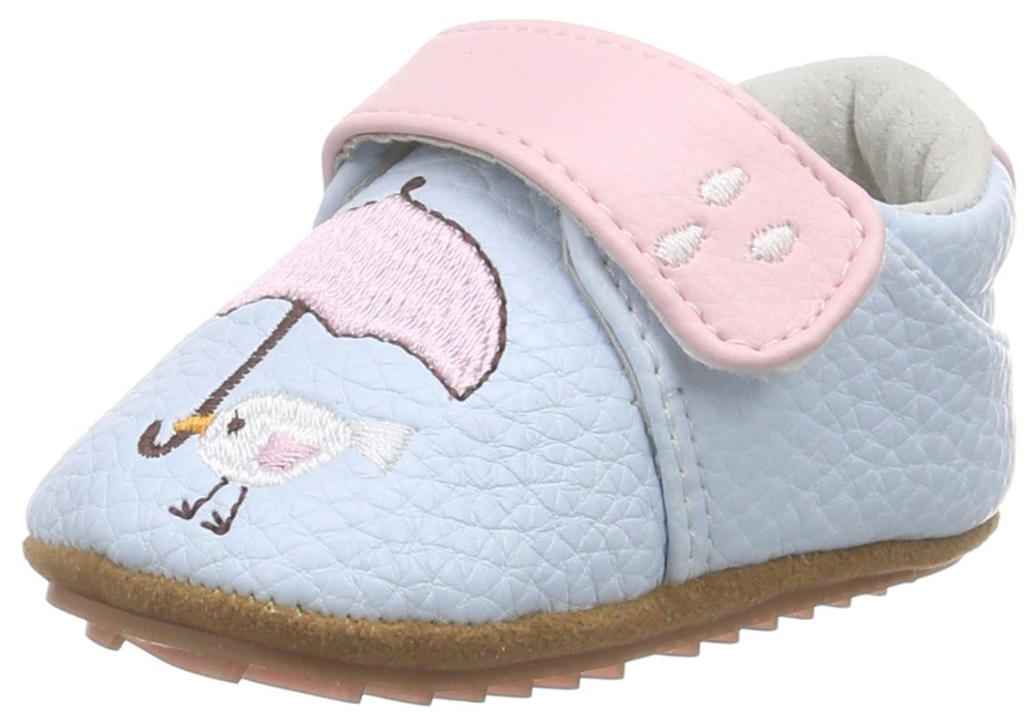 Rose & Chocolat Birdy Umbrella Baby Blue - Zapatillas de casa Bebé-Niños Color Azul Talla 19 EU RCM 1044 06